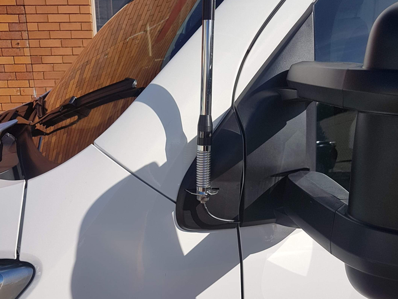 UHF Antenna Installation