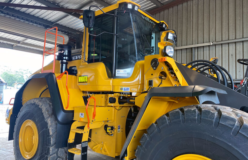 Earth Moving Machine Tinting